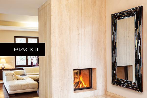 Big Q Dark Brown Glass Mosaic Modern Mirror image 5