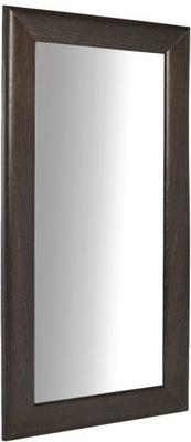 Fitzroy Wall Leaning Mirror Full Height in Charcoal Wenge Finish