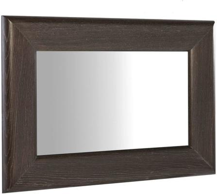 Fitzroy Wall Mirror in Charcoal Wenge Finish