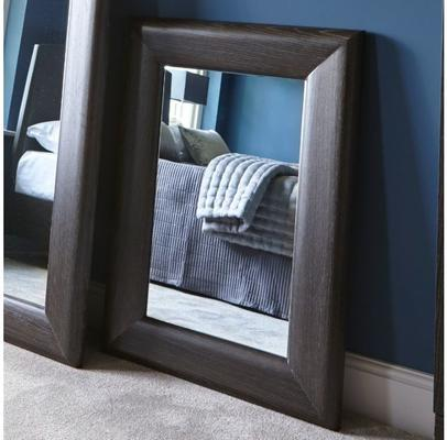Fitzroy Wall Mirror in Charcoal Wenge Finish image 3