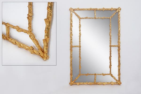 Jacinthe Ornate Wall Mirror image 5