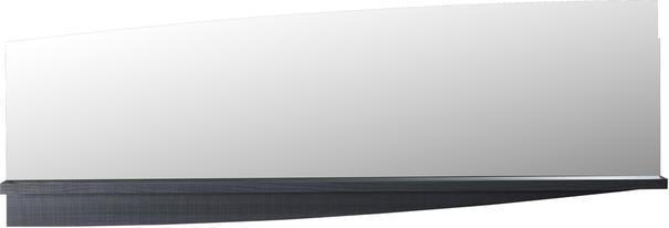 Elypse mirror with shelf