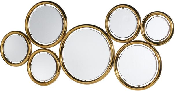 Seven Circles Wall Mirror