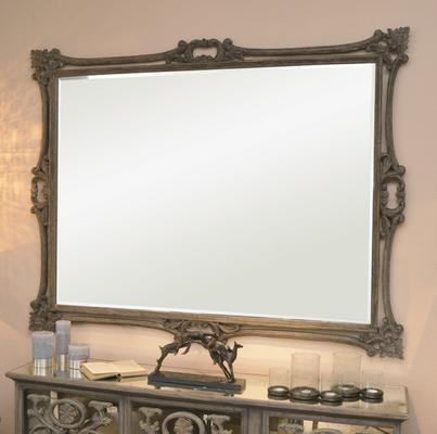 Roxborough Mindi Wood Rectangular Mirror Extra Large image 2