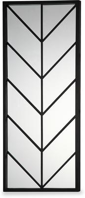 Clapton Chevon Mirror Wooden Frame