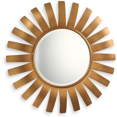 Paris Sunburst Mirror Antique Bronze or Gold
