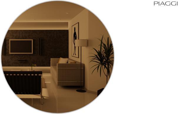 Popy Bronze Mirror round image 6