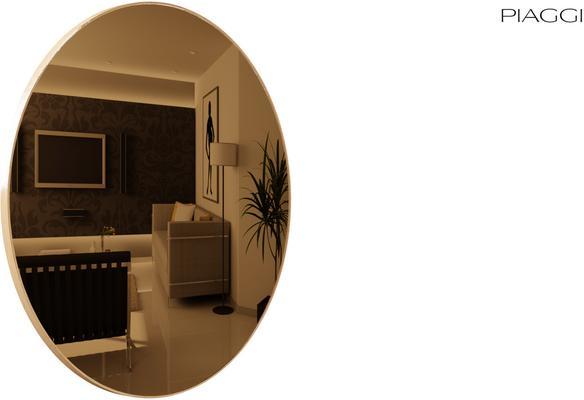Popy Bronze Mirror round image 7