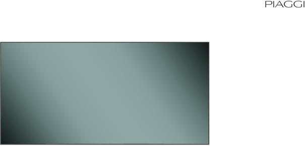 Popy Graphite Mirror rectangular image 9