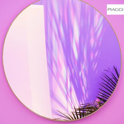 Popy Graphite Round Mirror image 5