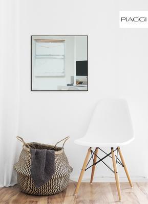 Popy Graphite Square Mirror image 2