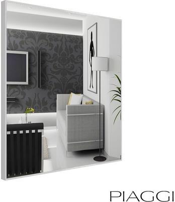 Popy Silver Square Mirror image 8