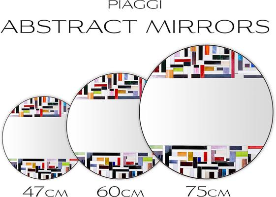 Abstract Double Mosaic Mirror image 11