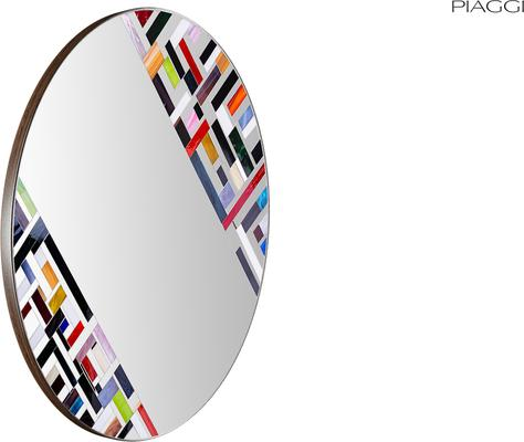 Abstract Double Rotated Mosaic Mirror image 4