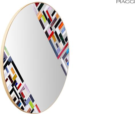 Abstract Double Rotated Mosaic Mirror image 5
