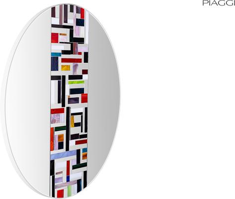 Abstract Single Mosaic Mirror image 6
