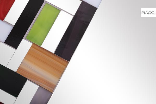 Abstract Single Mosaic Mirror image 10