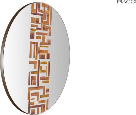 Abstract Single Beige Mosaic Mirror image 3