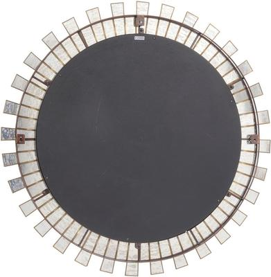 Aurora Sunburst Mirror Antique Silver image 3