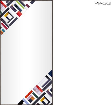 Abstract Rectangle Double Mosaic Mirror image 2