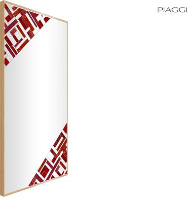 Abstract Rectangle Double Mosaic Mirror image 13