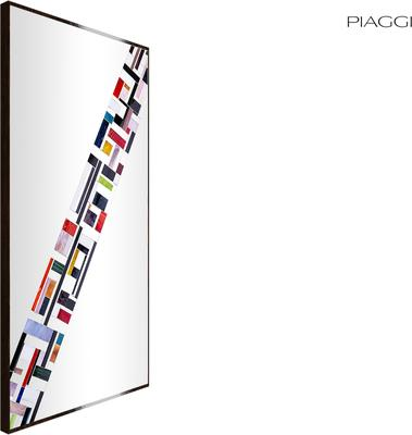 Abstract Rectangle Cross Mosaic Mirror image 2