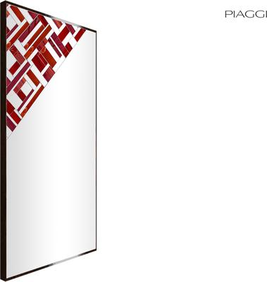 Abstract Rectangle Cross Mosaic Mirror image 11