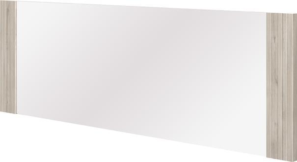Aston Rectangular Mirror - Light Oak or Black Edge image 3