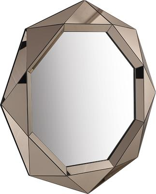 Lieber Geometric Mirror with Matt Bronze image 5