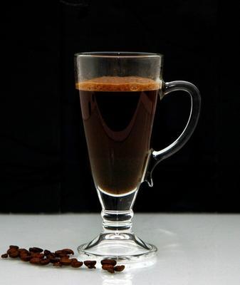 Pair Of Coffee Glasses Dalia 270ml image 2