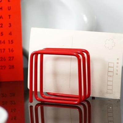 Block Letter Rack - Red image 2