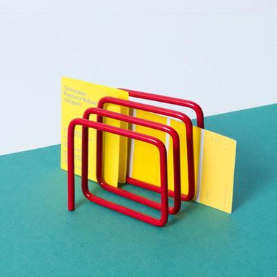 Block Letter Rack - Red image 4