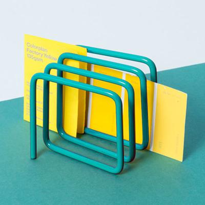Block Letter Rack - Turquoise image 4