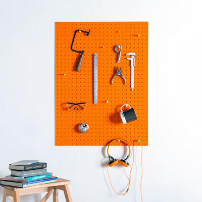 Block Large PegBoard (Orange)