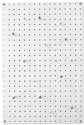 Block Medium PegBoard - White image 3