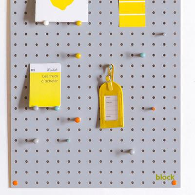 Block Medium PegBoard - Grey image 2