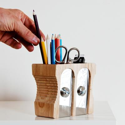 Suck UK Double Sharpener Desk Tidy image 2
