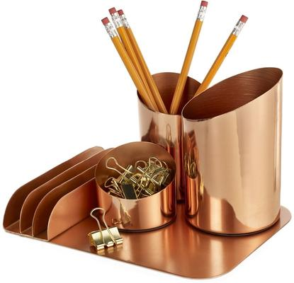 Bainbridge Copper Desktop Organiser