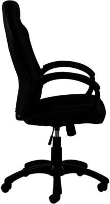 Race Desk Chair Padded Faux Leather with Gas Lift image 3