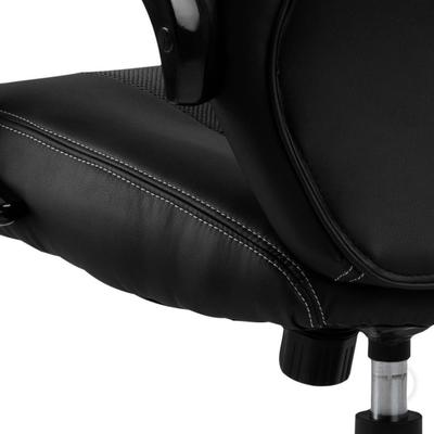 Race Desk Chair Padded Faux Leather with Gas Lift image 5