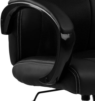 Race Desk Chair Padded Faux Leather with Gas Lift image 6