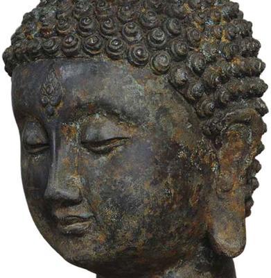 Cast Bronze Buddha image 2