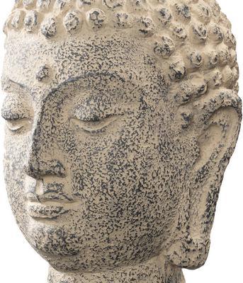 Stone Buddha Head image 3