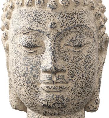 Stone Buddha Head image 4