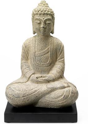Stone Seated Buddha