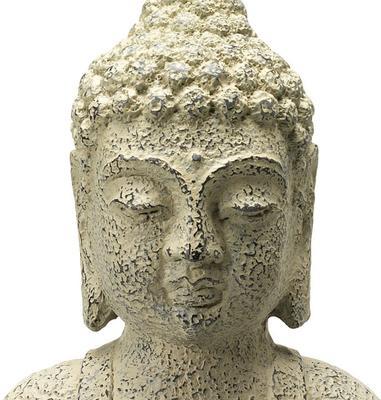 Stone Seated Buddha image 3
