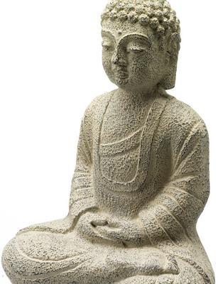 Stone Seated Buddha image 4