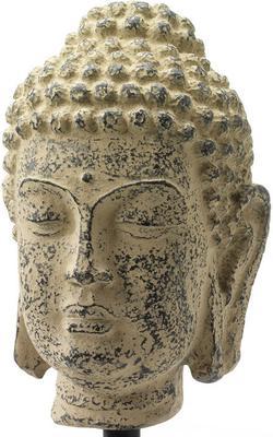 Small Stone Buddha Head image 2