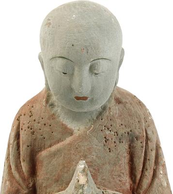 Carved Wooden Buddha image 3