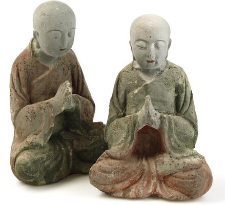 Carved Wooden Buddha image 4